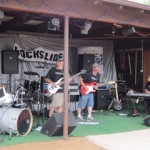 Band performing at Rockslide Music Fest 2012